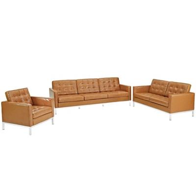 Armchair Loveseat and Sofa Set