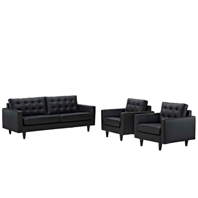 Sofa and Armchairs Set of 3