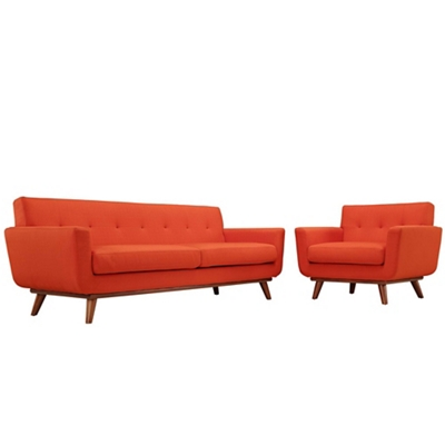 Armchair and Sofa Set of 2