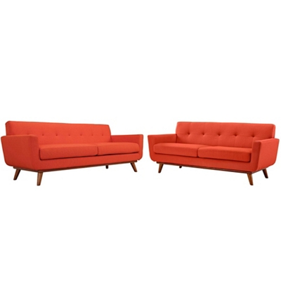 Loveseat and Sofa Set of 2