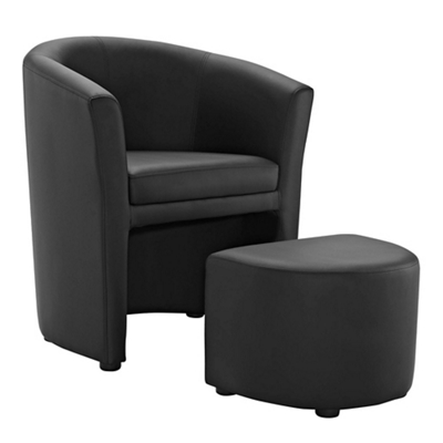 Armchair and Ottoman