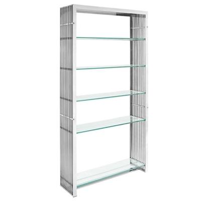 Stainless Steel Bookshelf