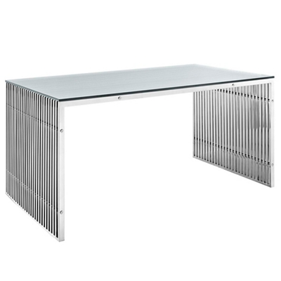Stainless Steel Conference Table