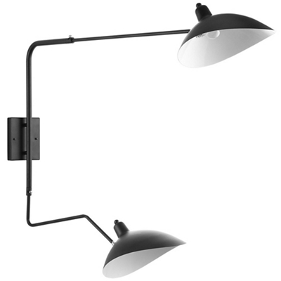 Double Fixture Wall Lamp