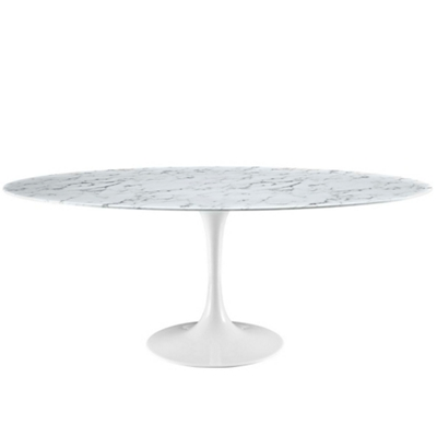 "78"" Artificial Marble Table"