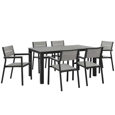 7 PC Outdoor Patio Dining Set