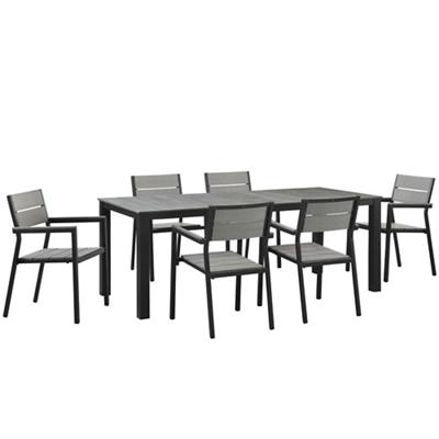 7 PC Outdoor Patio Dining Set