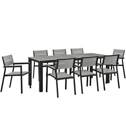 9 PC Outdoor Patio Dining Set