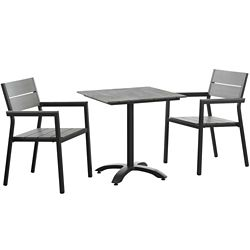 3 PC Outdoor Patio Dining Set