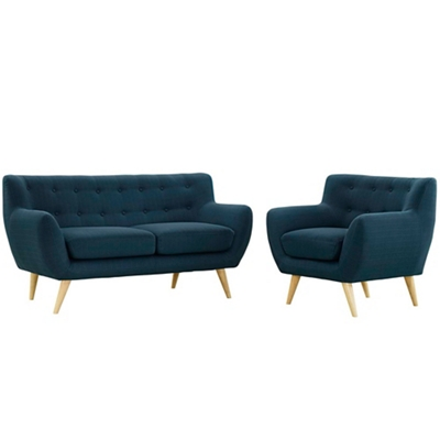 2 PC Loveseat and Chair Set