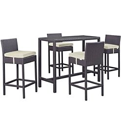 5 PC Outdoor Patio Pub Set