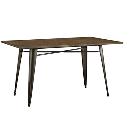 "59"" Rectangle Wood Dining Tabl"