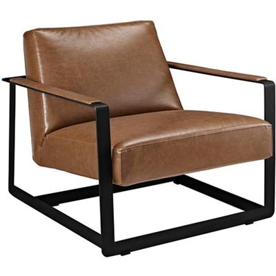 Vinyl Accent Chair