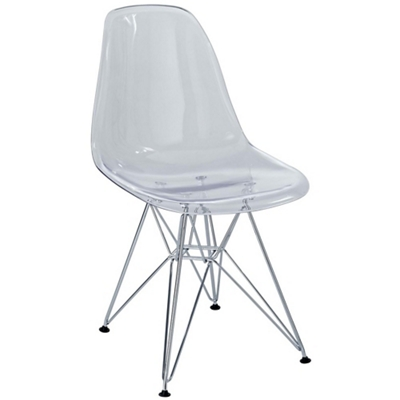 Molded Plastic Side Chair