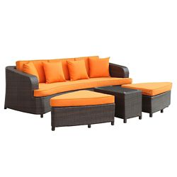 4 Piece Outdoor Patio Sofa Set