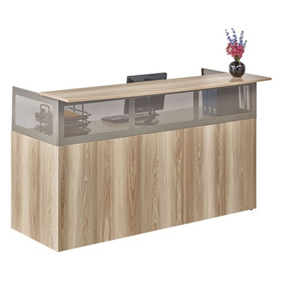 "At Work 72""W x 29""D Reception Desk"