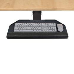 Lift and Lock Articulating Arm With Keyboard Tray