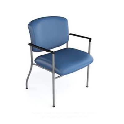 Bariatric Polyurethane Guest Chair with 450 lb Weight Capacity