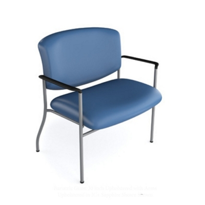 Bariatric Polyurethane Guest Chair with 750 lb Weight Capacity