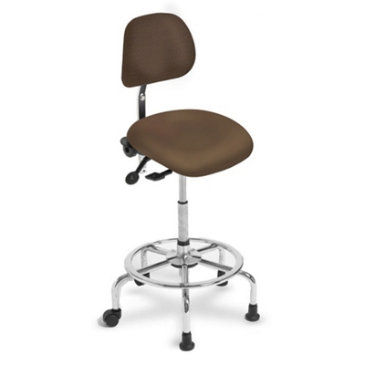 3 in 1 Sit-Stand Stool with IC+ Small Seat and Polyurethane Back