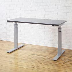 "Height-Adjustable Desk - 60""W x 30""D"