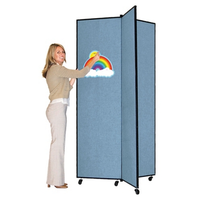 "Three Panel Display Tower - 3'8""W x 6'5""H"