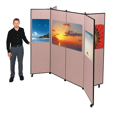 "Six Panel Display Tower - 7'3""W x 6'6""H"