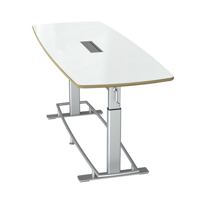 Dry Erase Height Adjustable Conference Table 94W X 36D By Focal Upright    45081 And More Lifetime Guarantee