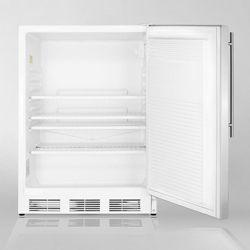 Stainless Steel Door Refrigerator - 5.5 Cubic Ft