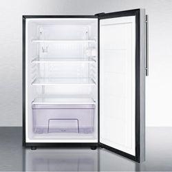 Stainless Steel Door Refrigerator - 4.1 Cubic Ft