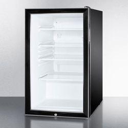 Glass Door Beverage Cooler - 4.1 Cubic Ft