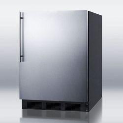 Stainless Steel Door Freezer - 5.1 Cubic Ft