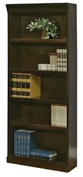 "72"" H Five Shelf Contemporary Bookcase"
