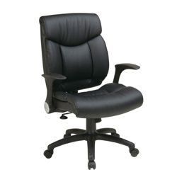 Office Chair with Flip Up Arms