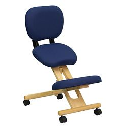 Kneel Chair with Backrest