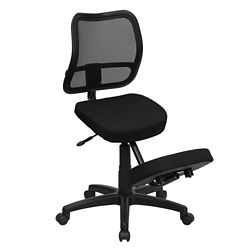 Mesh Back Kneel Chair with Five Star Base