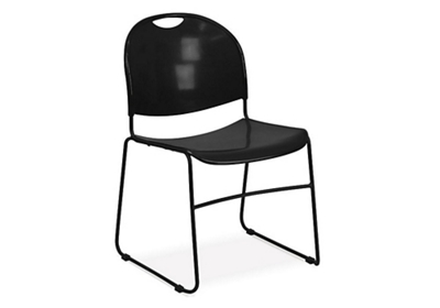 Lightweight Sled Base Stack Chair