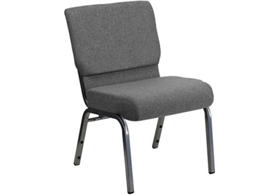 "Fabric Wing-Back Church Chair - 21.5""W"