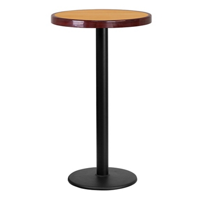 "Bar Height Table with Round Base - 24""DIA"