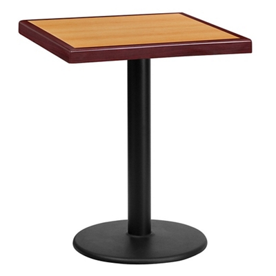 "Standard Height Table with Round Base - 24""W x 24""D"