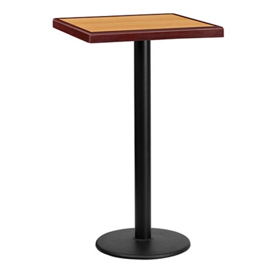 "Bar Height Table with Round Base - 24""W x 24""D"