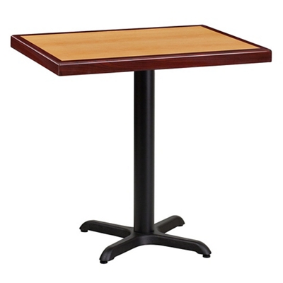"Standard Height Table with X Base - 30""W x 24""D"