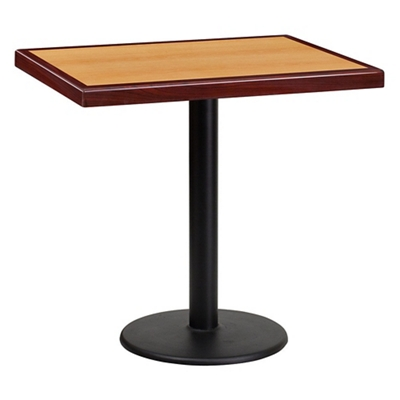"Standard Height Table with Round Base - 30""W x 24""D"