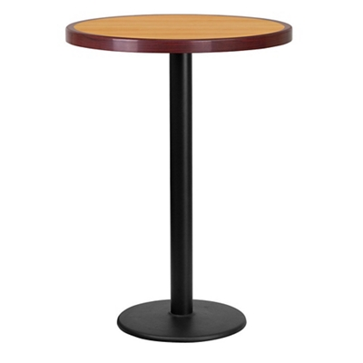 """Bar Height Table with Round Base - 30""""DIA"""
