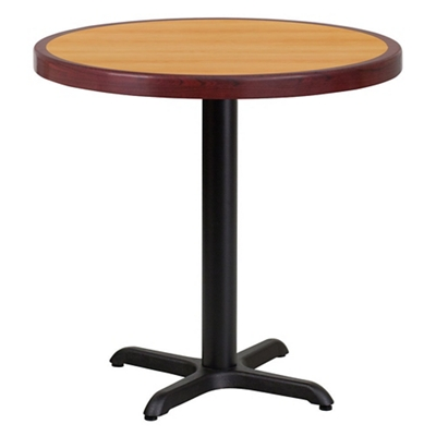 """Standard Height Table with X Base - 30""""DIA"""