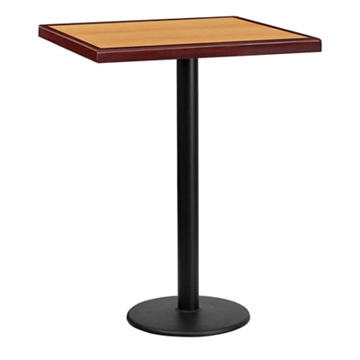 """Bar Height Table with Round Base - 30""""W x 30""""D"""