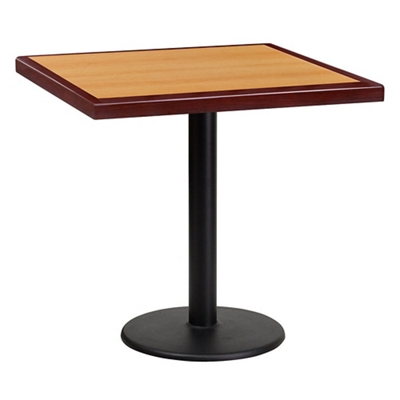 """Standard Height Table with Round Base - 30""""W x 30""""D"""