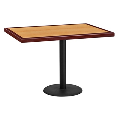 "Standard Height Table with Round Base - 42""W x 30""D"
