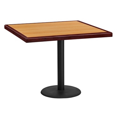 "Standard Height Table with X Base - 36""W x 36""D"