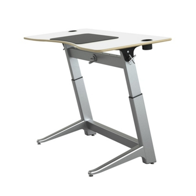 "Height Adjustable Desk 60""W by Focal Upright"